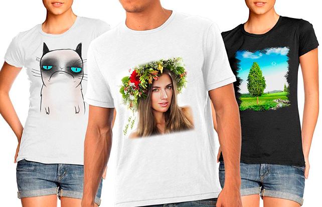 Как заказать футболку через интернет с рисунком